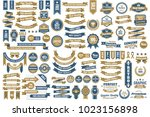 vintage retro vector logo for... | Shutterstock .eps vector #1023156898