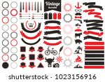 vintage retro vector logo for... | Shutterstock .eps vector #1023156916