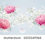 Chrysanthemums And Apple...