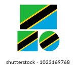 vector illustration of tanzania ... | Shutterstock .eps vector #1023169768