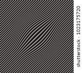 halftone bloat effect optical... | Shutterstock .eps vector #1023175720