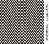 seamless zig zag geometric...   Shutterstock .eps vector #1023175759