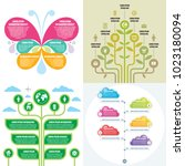 business infographic templates... | Shutterstock .eps vector #1023180094
