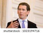 vienna  austria   feb 08 ...   Shutterstock . vector #1023194716