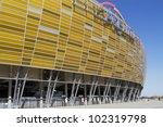 gdansk  poland   may 01  pge...   Shutterstock . vector #102319798