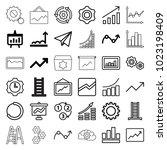 progress icons. set of 36...   Shutterstock .eps vector #1023198409