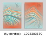 minimal banner templates with... | Shutterstock .eps vector #1023203890