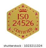 iso 24526 standard  water... | Shutterstock . vector #1023211324