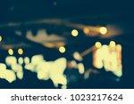 defocused entertainment concert ... | Shutterstock . vector #1023217624