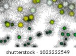 light colored vector template... | Shutterstock .eps vector #1023232549
