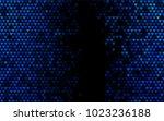 dark blue vector lovely... | Shutterstock .eps vector #1023236188