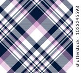 plaid check pattern in navy... | Shutterstock .eps vector #1023245593