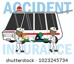 accident safety emergency...   Shutterstock .eps vector #1023245734