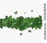 abstract patrick day background ... | Shutterstock .eps vector #1023248938