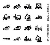 loader icons. set of 16...