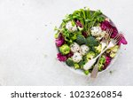vegetables with rice.... | Shutterstock . vector #1023260854