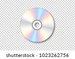 vector realistic isolated disk... | Shutterstock .eps vector #1023262756