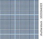 glen plaid vector pattern in... | Shutterstock .eps vector #1023266323