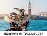 carnival of venice  beautiful... | Shutterstock . vector #1023287269