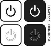 power icon | Shutterstock .eps vector #102329554