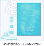 vector set pattern cover with a ... | Shutterstock .eps vector #1023299980