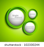 bright background with circles...