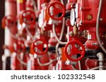 Red Steam Valves And Other...