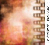blurry grunge abstract... | Shutterstock . vector #1023333640