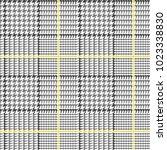 glen plaid vector pattern in... | Shutterstock .eps vector #1023338830