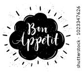 hand drawn typography poster.... | Shutterstock .eps vector #1023347626