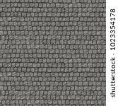 squared street cobblestone... | Shutterstock .eps vector #1023354178
