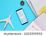 travel   trip vacation  tourism ...   Shutterstock . vector #1023355933