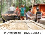 grill and table | Shutterstock . vector #1023365653