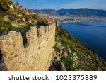 amazing ancient fortress of... | Shutterstock . vector #1023375889