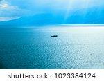 antalya coastline view. | Shutterstock . vector #1023384124