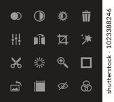 image editing icons   gray... | Shutterstock .eps vector #1023388246