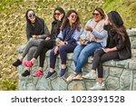 tehran  iran   april 28  2017 ...   Shutterstock . vector #1023391528