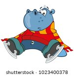 vector illustration of a cute...   Shutterstock .eps vector #1023400378