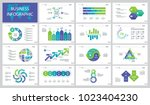 planning project slide... | Shutterstock .eps vector #1023404230