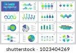 successful business slide... | Shutterstock .eps vector #1023404269