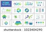 insurance project slide... | Shutterstock .eps vector #1023404290