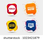 sale icons. special offer... | Shutterstock .eps vector #1023421879