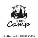 hand drawn inspirational label... | Shutterstock .eps vector #1023455836