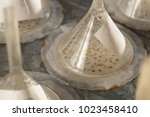 seeds on germination table...   Shutterstock . vector #1023458410