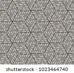 vector seamless pattern. modern ... | Shutterstock .eps vector #1023464740