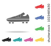 football boots icon.. element...