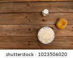a very good basmati rice | Shutterstock . vector #1023506020