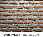 beautiful brick block | Shutterstock . vector #1023537676