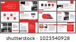red presentation templates for...