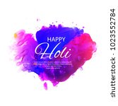 illustration of colorful happy... | Shutterstock .eps vector #1023552784